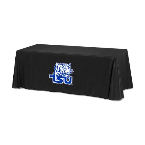 Tennessee State Black 6 foot Table Throw 'Official Logo' by CollegeFanGear