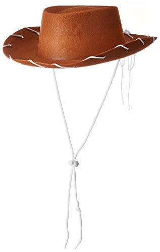 Koolstuffs Children's Cowboy Brown Hat Costume Woody Style (Toy Hat Story Disney)