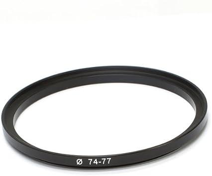 Adaptador filtro Step-up anillo adaptador 58mm-77mm 58-77 adaptadores anillo