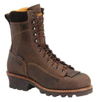 Carolina 8 Waterproof Lace-to-Toe Logger Boot Mens D95 Men/'s D95