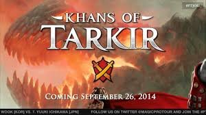 Magic the Gathering Khans of Tarkirs - 1 Complete set with MYTHIC AND RARES