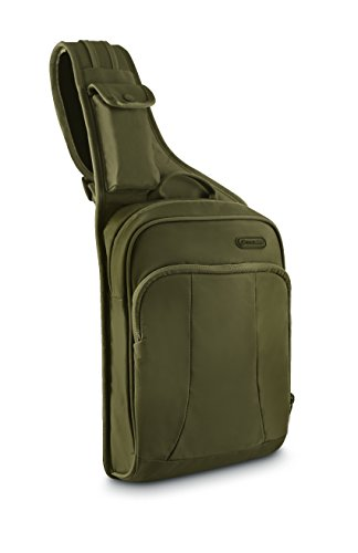 - Pacsafe Luggage Metrosafe 150 gii Cross Body Sling Bag, Jungle Green