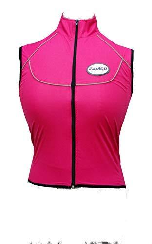 Zimco Elite Women Cycling//Running Waterproof Vest Windproof Biking Vest Pink