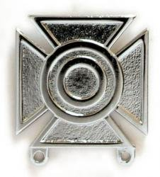 Army Sharpshooter Badge Mirrored Finish - Regulation