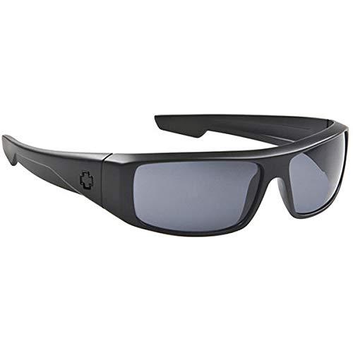 Spy Optic Logan Sunglasses,One Size,Matte Black/Grey
