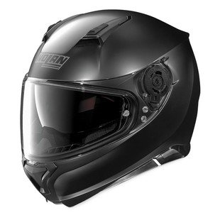 Nolan Unisex Adult N87 Flat Black Full Face Helmet N875270330102