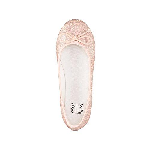 La Redoute Collections Mdchen Rosa Ballerinas mit Pailletten 2635 Gre 34 Rosa
