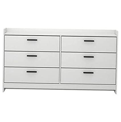 Amazon.com: Hebel Central Park 6 Drawer Dresser | Model ...