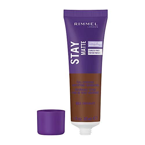 (Rimmel Stay Matte Foundation, Chocolate, 1 Fluid)