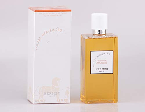 Hermes Eau Des Merveilles Shower Gel 200ml by Hermes Eau Des Merveilles Body