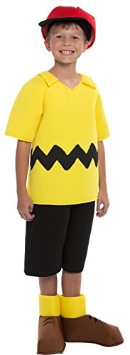 [Peanuts: Deluxe Charlie Brown Kids Costume - Small (4-6)] (Charlie In A Box Costume)
