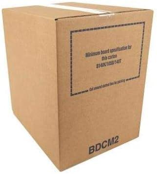 Priory Direct Cajas Bdc2 en Cartón Corrugado Marrón Biodegradable/Reciclable y Sin Plástico - 406 x 280 x 356mm