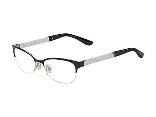 JIMMY CHOO Eyeglasses 106 0F2t Semi Matte Black 52MM
