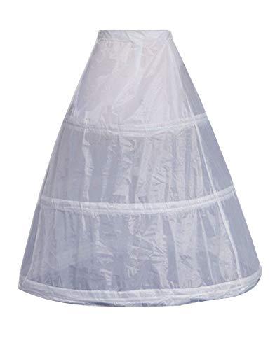 Zukzi Women's 1800s Retro Rococo Gothic Victorian Dress Costume, 3-Hoops -
