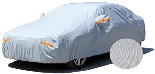 GOG Cotton Velvet Thickening car Clothing Rainproof Sunscreen Four Season car Cover,Gray
