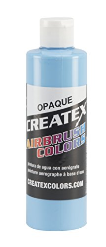Createx Colors Paint for Airbrush, 8 oz, Opaque Sky (Paint Sky Mural)