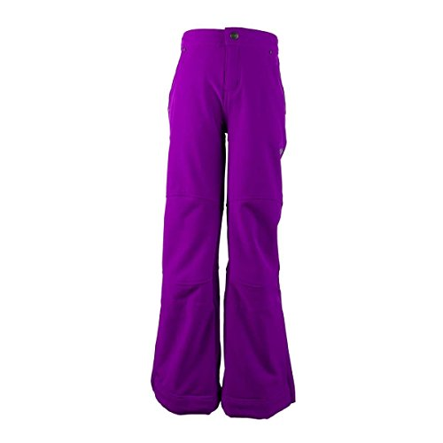 Obermeyer Kids Girl's Jolie Softshell Pant (Little Kids/Big Kids) Violet Vibe Pants XL (18 Big Kids) by Obermeyer Kids