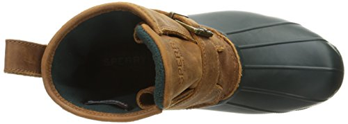 Sperry Top-sider Womens Scar Water Boot Green / Tan