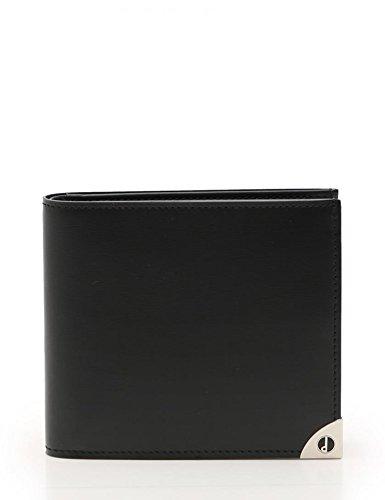 481a4ebc67d5 Amazon   (ダンヒル) Dunhill ロンドンスタイル 二つ折り 財布 WN3010A レザー 黒 メンズ 中古   財布