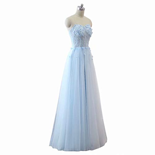 Schatz King's Abendkleid Long 32 Perlen Formal Love Tulle Maxi Frauen Ballkleider wPxq0F7AP