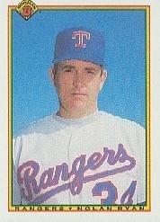 - 1990 Bowman Baseball Card #486 Nolan Ryan Mint