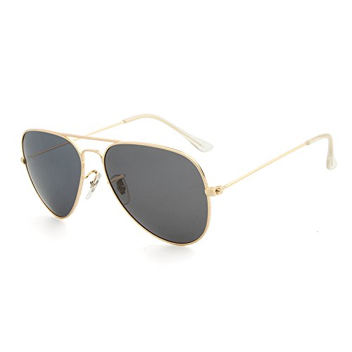 Marque Femmes Soleil pour Hommes Golden Lunettes Lunettes Oculos XZP Designer ovales gray de Polarizado de Classiques polarisées Vue Aviador O0gxqwC