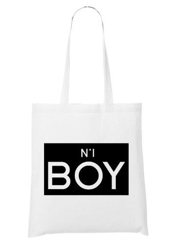 N°1 Boy Bolsa Blanco