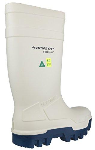 Purofort 40 Dunlop Thermoisolierung thermo mit Stahlkappe bis Dunlop Weiß °C Gummistiefel Oranger WxZ1zznR