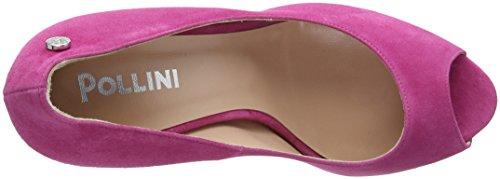 Sandal Rose Ouvert Bout Escarpins Femme 606 Ciclamino W Pollini zxB7w