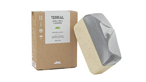 Sabonete Argila Preta e Gengibre - Terral Natural