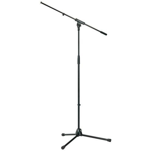 "Price comparison product image K & M 210 / 6 Tripod Microphone Stand with 32"" Boom,  36.41-64.17"" Height Adjustment,  Black"