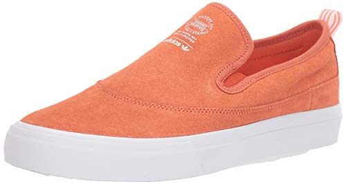adidas Originals Men's Matchcourt Slip Sneaker, Semi Coral/White/Gum, 10.5 M US (D Roses Shoes Youth)