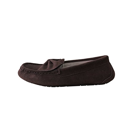 Flat Brown Slippers Slippers Breathable Loafers Driving Moccasin Women Womens Shoes for Moccasin Suede Casual Slippers Comfortable nZU4x4