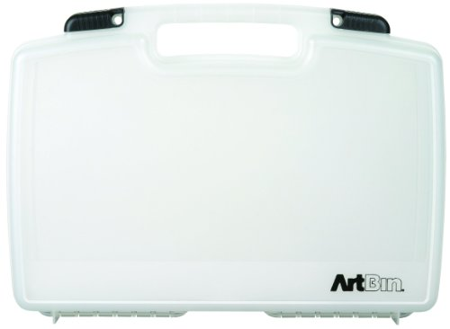 ArtBin Quick View Carrying Case-17-Inch by 4-Inch by 12-1/3-Inch Translucent Art/Craft Supply Storage Container, 8017AB -