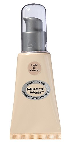 Physicians Formula SPF 15 Mineral Wear Talc Free Mineral Tinted Moisturizer, Light to Natural, 1 Fluid Ounce