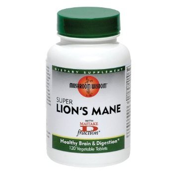 Mushroom Wisdom Super Extract, Lion's Mane, 120 Count