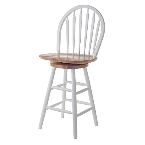 Winsome Wood Wagner Stool, 24