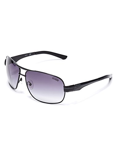 GUESS Factory Men's Metal Navigator - For Face Sunglasses Male Shaped Oval