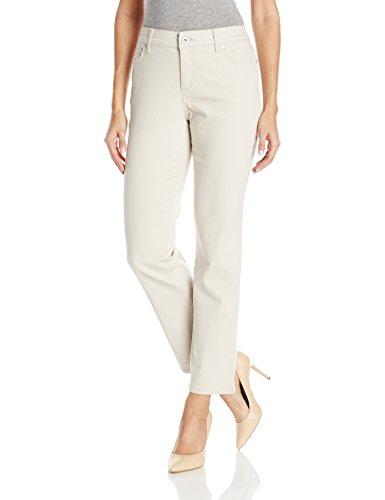 Bandolino Women's Mandie 5 Pocket Jean, Creamstone, 8 Short