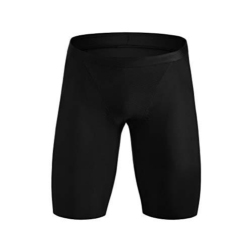 - ROKA Men's Gen II Elite Aero Triathlon Sport Shorts - Black 9.5