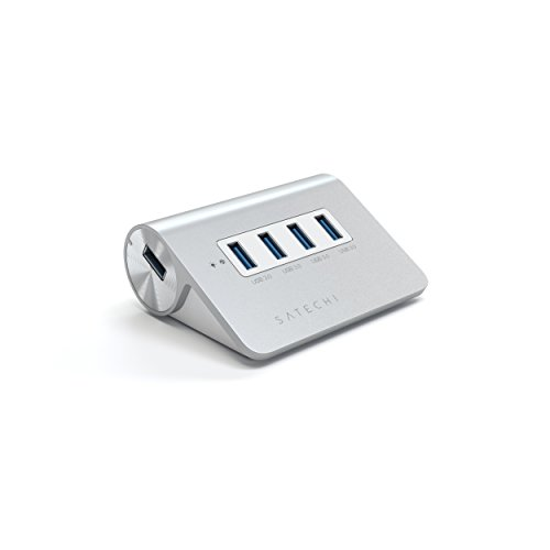 Satechi Port Premium Aluminum White