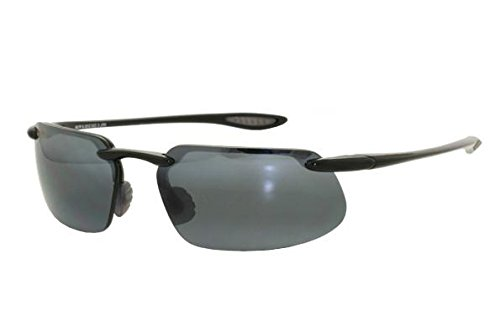 Maui Jim Kanaha 409-02 | Sunglasses, Neutral Grey Lenses, with with Patented PolarizedPlus2 Lens ()