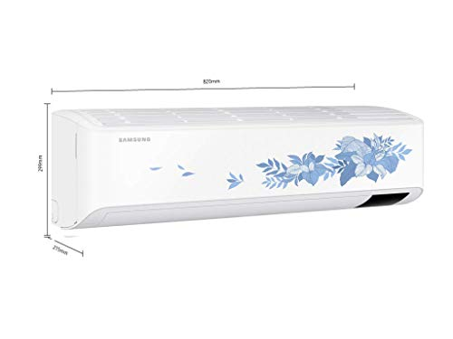 Samsung 1 Ton 4 Star Inverter Split AC (Copper, Convertible 5 in 1, HD Filter, 2021 Model, Floral pattern… 2021 July Split AC with inverter compressor: Variable speed compressor which adjusts power depending on heat load. 5 modes to choose within different tonnages for different cooling needs. Split AC: 1.0 ton Suitable for small sized rooms ( upto 110 sq ft) Energy Rating: 4 Star High energy efficiency| Annual Energy Consumption 634.66 Units per year | ISSER Value: 4.02