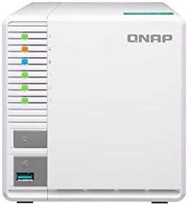 QNAP TS-328 Ethernet Torre Blanco NAS - Unidad Raid (30 TB, Unidad de Disco Duro, Unidad de Disco Duro, SSD, Serial ATA III, 3.5