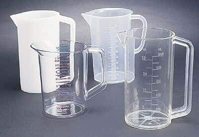 Polycarbonate Graduated Beaker with Handle, 4000 - Polycarbonate Beaker