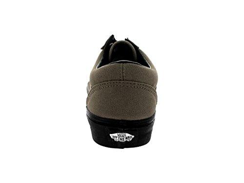 Vans Old Skool Black Sole Ankle-High Canvas Skateboarding Shoe Brindle ZWINfZf