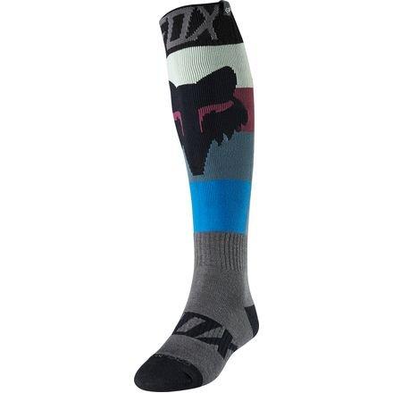 2018 Fox Racing Coolmax Thin Draftr Socks-Charcoal-L