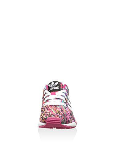 Bambini Ciclamino Flux multicolore Adidas Zx Sneaker Unisex qwfUCgnx