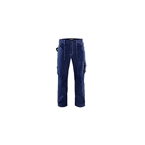 Blakläder Pantalon artisan doublée Cordura 1570, couleur:bleu marine;pointure:44