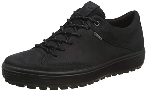 ECCO Men's Soft 7 TRED Low Gore-TEX Sneaker Nubuck Shoes